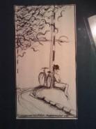 Picturi in creion / carbune Andromeda [cumpana secolelor]